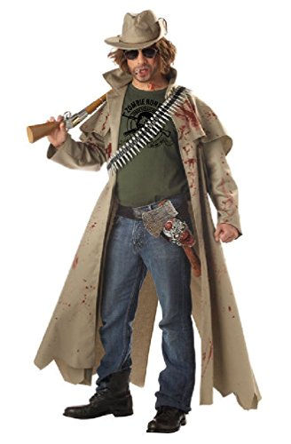 8eighteen Bloody Safari Zombie Hunter Adult Costume