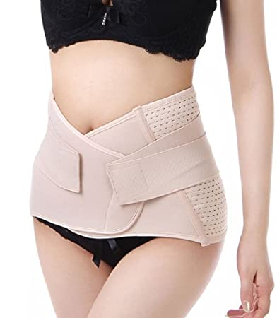 Amazon.com   Breathable Elastic Postpartum Postnatal Support Girdle Belt  Post Pregnancy Belly Band Abdominal Binder for Women Maternity for Waist  Size 28 to ... e40c264fa3f