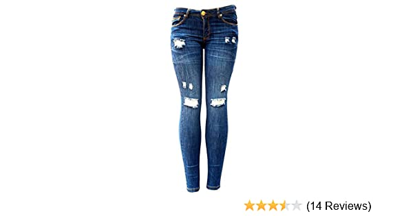 15 C/'est toi Women/'s Mid Rise Skinny jeans dark wash Size 11
