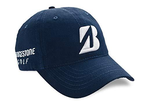 Bridgestone Golf 2019 Tour B Relax Cap Hat, Adjustable Closure, Navy