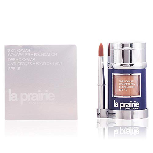 Skin Caviar Concealer Foundation SPF15 New Packaging by La Prairie Foundation Concealer 2g - Shade: Honey Beige 30ml ()