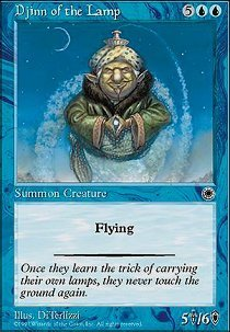 Magic: the Gathering - Djinn of the Lamp - Portal