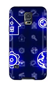 Amy Poteat Ritchie's Shop Hot 2214797K95140460 First-class Case Cover For Galaxy S5 Dual Protection Cover K Symbols