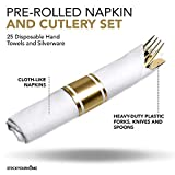 Stock Your Home PreRolled Napkin and Cutlery Parent