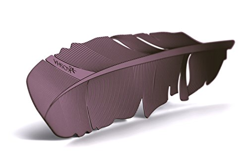 [KOSHA feather bookmark, Purple varnish on stainless steel base. In gift-box. Special gift idea for man and woman. Metal bookmarks for] (Womens Halloween Ideas)