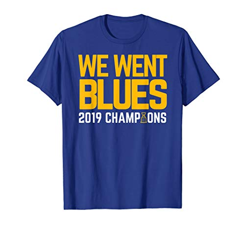 We Went Blues! Gifts Hockey Championship T-Shirt ()