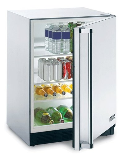 Lynx L24REF Stainless Bite the bullet Compact Refrigerator, 5.5 Cubic Feet