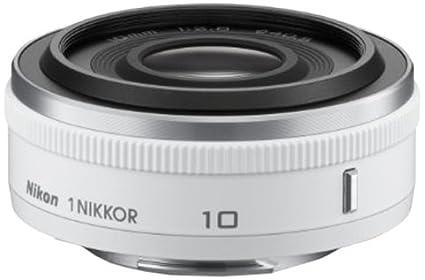 377835eb1f3 Amazon.com : Nikon 1 NIKKOR 10mm f/2.8 (White) : Camera Lenses ...