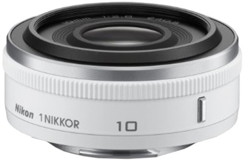 Nikon 1 NIKKOR 10mm f/2.8 (White)