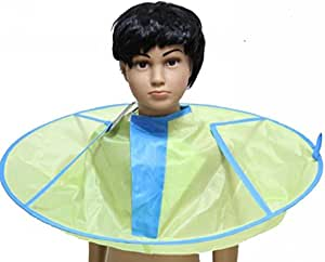 ewinever(R) 1PCS Child Kid Bib Hair Cutting Cape Barber Styling Salon Waterproof Cloak