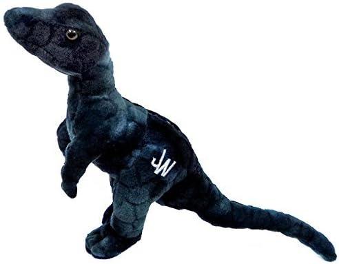 Jurassic World Peluche Velociraptor 17,8 cm, Colore: Blu