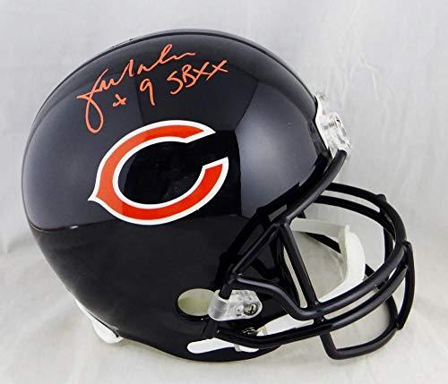 Jim McMahon Autographed F/S Chicago Bears Helmet W/SB XX- Beckett Auth Orange