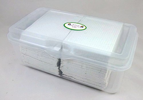 Beau Plastic Flip Top Container With Disposable, White, Multi Use Changing Table.