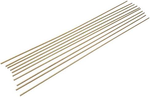 Queenwind 10pcs のための多目的の固体青銅のガスのろう付け棒 2.4 x500mm