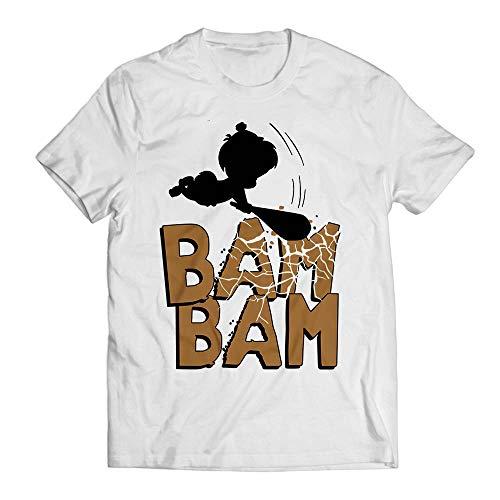 Bam Bam Costume Halloween Matching Family Group Youth & Adult Cosplay Customized Handmade Hoodie/Sweater/Long Sleeve/Tank Top/Premium T-shirt