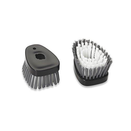 Kitchenaid Replacement Bristle Head Set Of 2 Black
