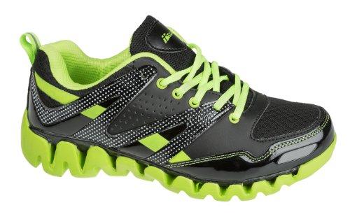 Unbekannt - Zapatillas para niño Negro - Noir - Verde Nero / Neon