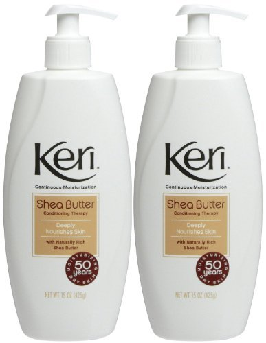 Keri Nourishing Shea Butter Lotion 15 oz (Pack of 2)