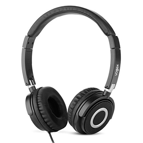 vogek-on-ear-headphones-lightweight-and-foldable-bass-headphones-with-volume-control-and-microphone