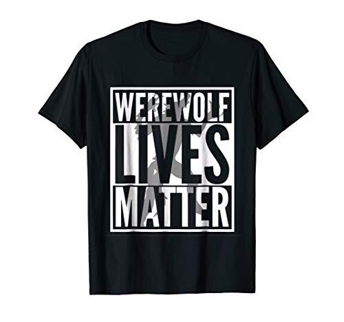 Funny Halloween Costume Ideas 2018 Werewolf Shirt]()