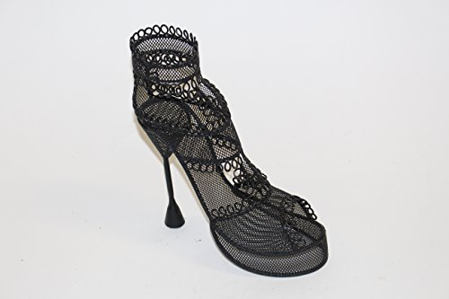 Black Wire Metal Shoe Display high