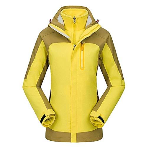 In Invernale Trekking E Con Impermeabile women Donna Gold Xx Cappuccio Outdoor Pile Travel large colore Giacche Giacca Alpinista Sportswear Softshell Dimensione Uomo Da wqpxxYg
