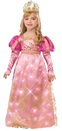 Fiber Optic Halloween Costumes (Rubie's Costume Rose Queen Child Costume, Toddler)