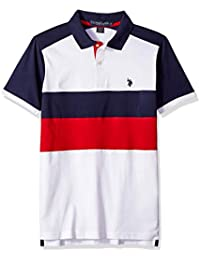 Men's Short Sleeve Classic Fit Solid Jersey Polo Shirt