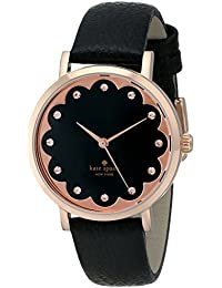 Womens 1YRU0583 Metro Analog Display Japanese Quartz Black Watch