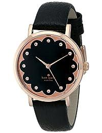 Kate Spade New York Women's 1YRU0583 Metro Analog Display Japanese Quartz Black Watch