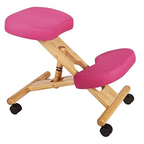 Kneeling Chair in Pink