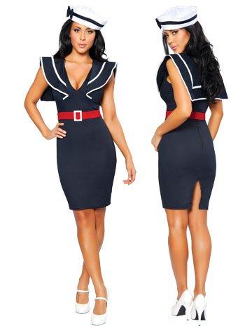 Captains Choice Luscious Sexy Sailor Costume - MEDIUM