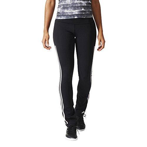 adidas AJ5054 Pantalon Femme Noir/Blanc FR : L (Taille Fabricant : L/L)