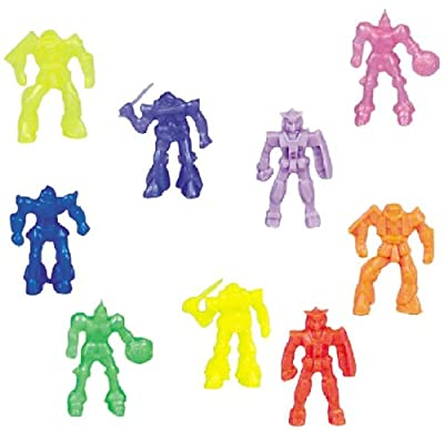 Pack 144 Battle Space Robot 1-3/4 Inch (44mm) Toy Figures