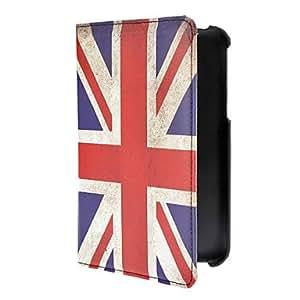 Vintage British Flag Pattern PU Leather Full Body Case for Samsung Galaxy Tab3 P3200