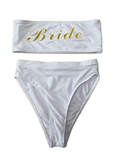 c0c5cc2860765 shifeier Team Bride One Piece Swimsuit Women Swimwear High Cut Bathing Suit  Sexy Bodysuit Monokini Beach