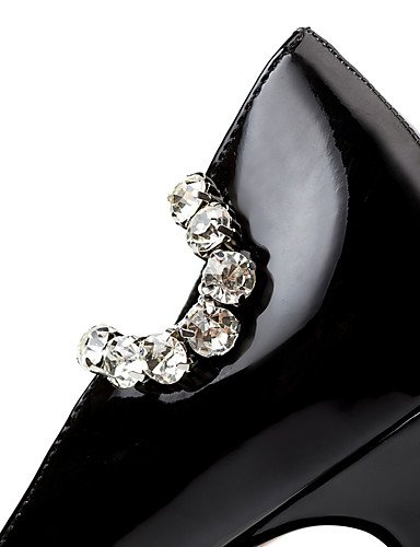 GGX/Westland? Damen Stiletto Heels/Plattform/spitz Toe Patent Leder Party & Abend/Kleid/Casual black-us6 / eu36 / uk4 / cn36