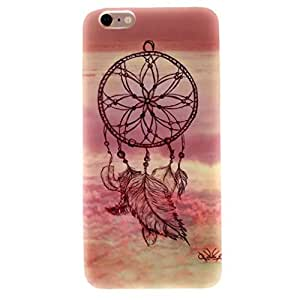 "For iphone 6 Plus , TUTUWEN Dream Catcher Style Soft TPU Flexible Rear Case Protective Cover for Apple iphone 6 Plus Plus (5.5 "")"