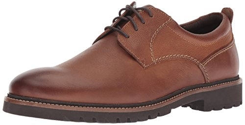 Rockport Men's Marshall Plain Toe Oxford Shoe, fawn, 13 W US (Casual Men Oxfords)