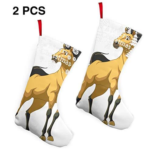 Spirit Stallion of The Cimarron Personality Christmas Stockings 2 Pcs Set 10