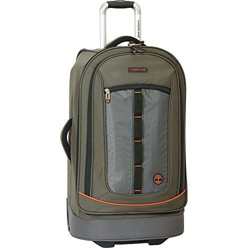 Timberland Wheeled Duffle Bag – Carry On Check In Lightweight Rolling Luggage Overnight Travel Bag Suitcase for Men