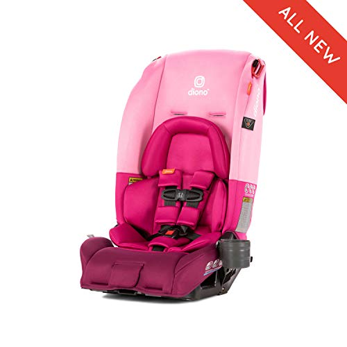 Diono Radian 3RX All-in-One Convertible Car Seat, for Children from Birth to 120 Pounds, Pink