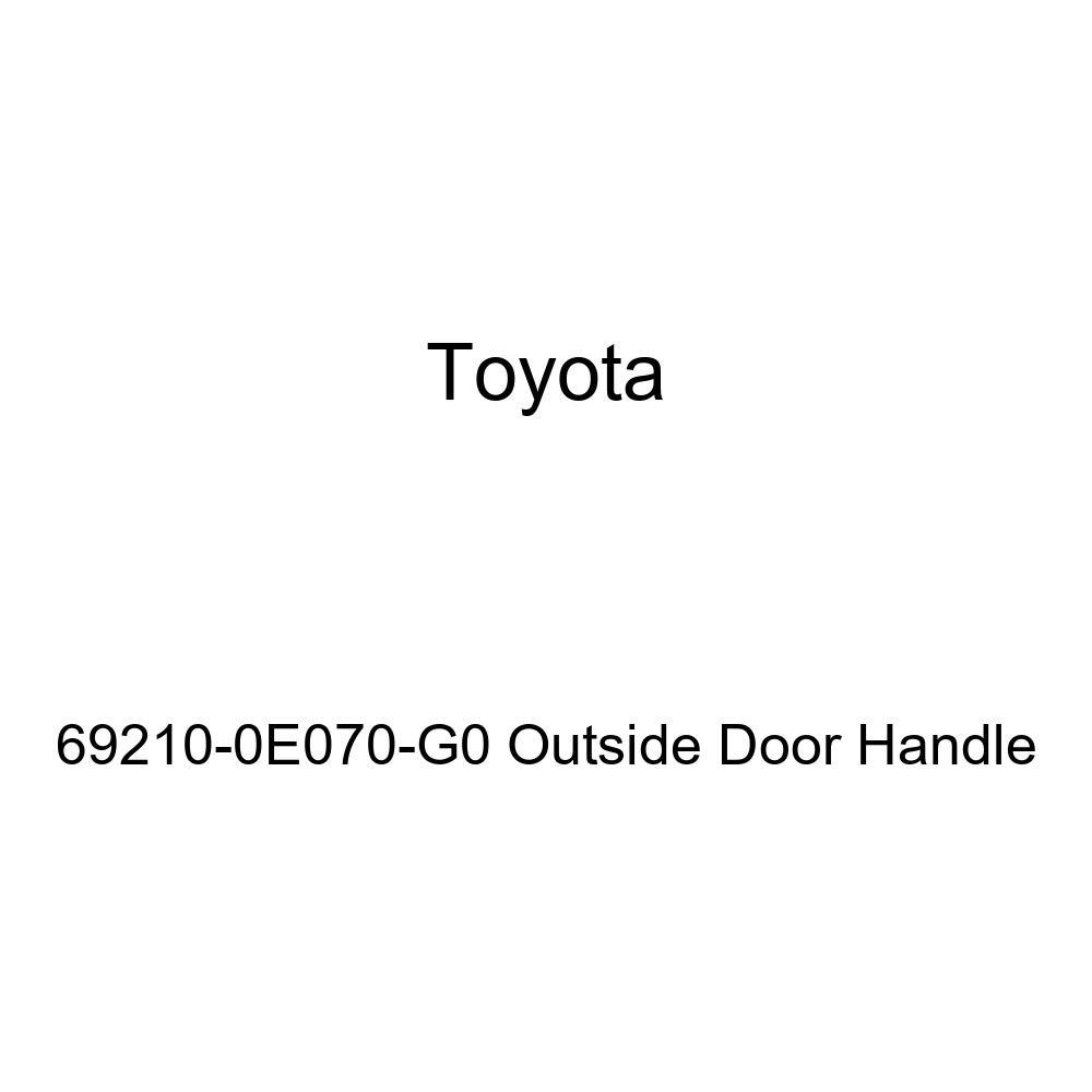 Toyota 69210-0E070-G0 Outside Door Handle