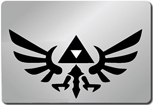 Zelda Link Triforce Shield Legend of Zelda Computer Skin Apple Sticker Laptop Sticker Macbook Decal Computer Sticker Macbook 13 Inch Vinyl Decal Sticker Skin Cover Computer Sticker Computer Decal Decal Mac Decal for Mac Laptop Sticker Laptop Decal Newest