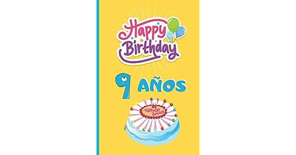 Amazon.com: 9 AÑOS: FELICIDADES! REGALO DE CUMPLEAÑOS ...