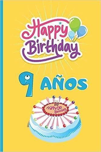 9 AÑOS: FELICIDADES! REGALO DE CUMPLEAÑOS ORIGINAL Y ...