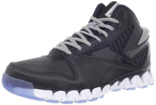Reebok Mens Zignano Profury Chaussure De Basket Noir / Blanc / Plat Gris / Glace