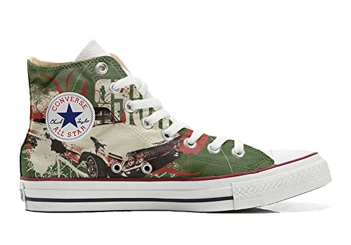 Converse All Star chaussures coutume mixte adulte (produit artisanal) Boy Chevrolet