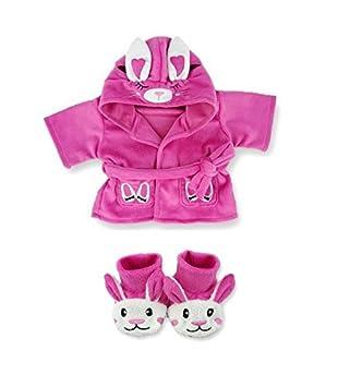 594629fcf35 Build Your Bears Wardrobe Teddy bear clothes fits build a bear teddies  Bunny Robe and Slippers
