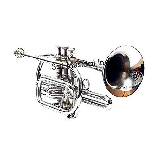 Sai Musical India Co-01, Cornet, Bb, Nickel by Sai Musical India